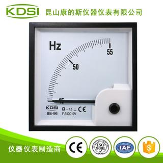 指針式直流電壓表 頻率表BE-96 DC10V 45-55HZ