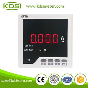 数字显仪表 BE96 AA800/5A 单相交流电流表 电流变比可编程
