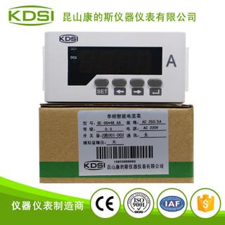 單相數字顯示電流表BE-96*48 AA250/5A 220V