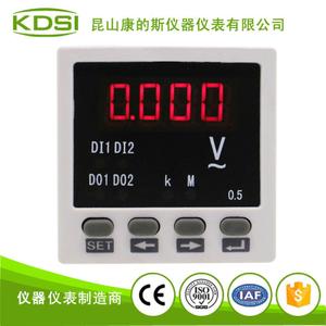 单相数字显电压表 BE-48 AA220V电源220V