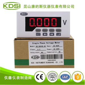 单相数显电压表BE-96*48 AV450V