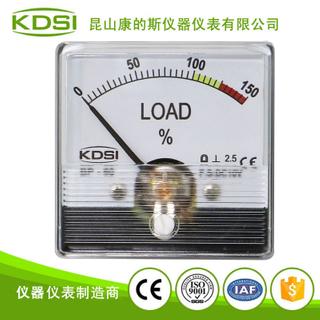 指針式直流電壓表 負載表BP-60N DC10V 150%