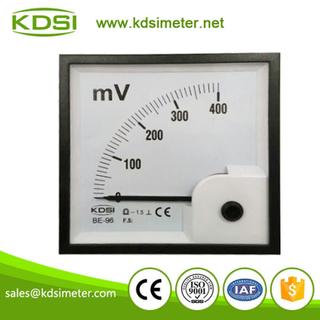 指針式直流電壓表 BE-96 DC400mV 毫伏電壓表