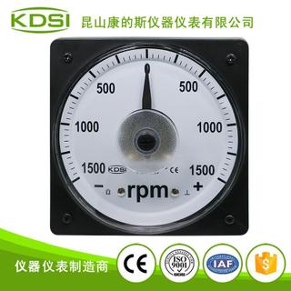 指針式船用正負電壓表 轉速表LS-110 DC+-10v+-1500rpm