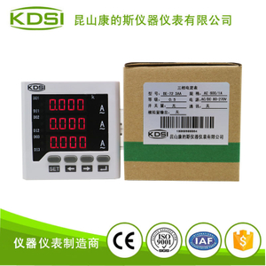 三相交流電流表BE-72 3AA AC600-1A 電源80-270V