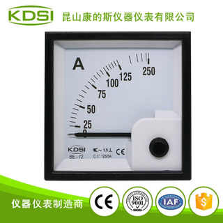 指針式交流安培表 BE-72 AC125-5A 磨床機械用表