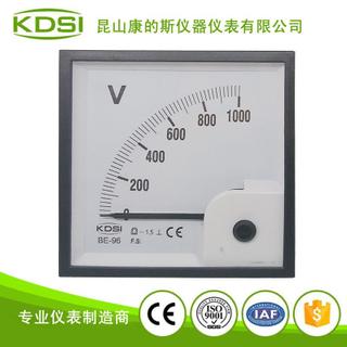 指針式直流電壓測量儀表 BE-96 DC1000V
