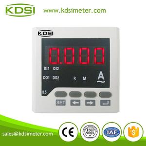 单相电流数字显示仪表 BE72 AA600A 机械电流表