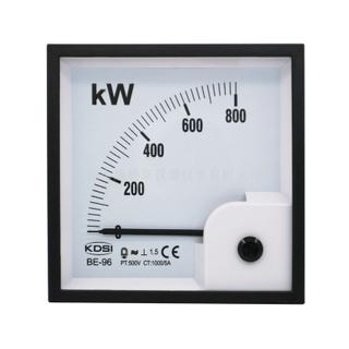 指針式功率表BE-96 800KW 500V 1000/5A