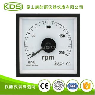 指針式毫安轉速表BE-96W DC4-20mA 200rpm