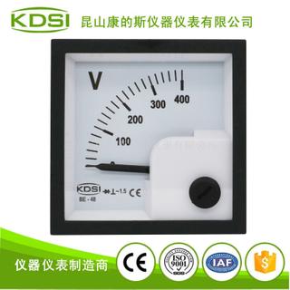 指針式整流型交流電壓表 BE-48 AC400V