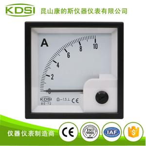 指針式直流電流表BE-72 DC10A