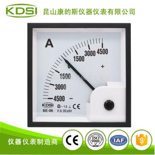 指針式正負電流表BE-96 DC+-5V+-4500A