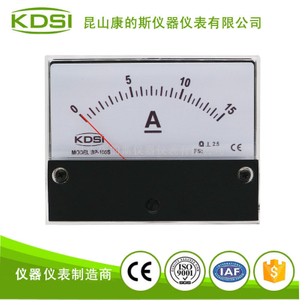 指針式機械電流表BP-100S DC15A