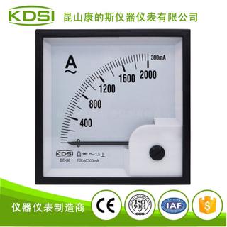 KDSI指針整流式電流表BE-96 AC300mA 2000A