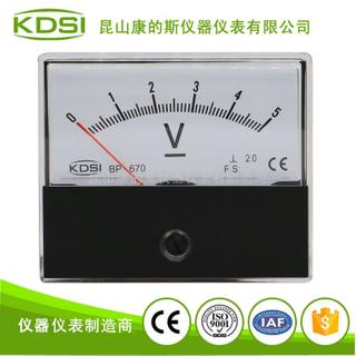 口罩機電壓測量專用電壓表頭BP-670 DC5V