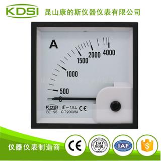 指針式交流電流表 BE-96 AC2000/5A