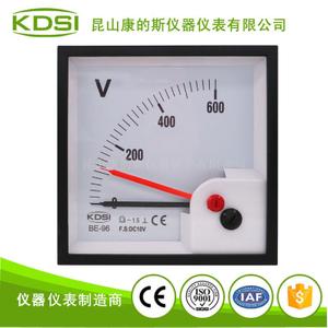 指針式直流電壓表BE-96 DC10V 600V雙針