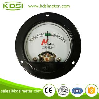 圓形指針式直流毫安電流表 BO-52 DC+-1mA
